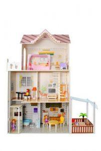 Stilingas-medinis-didelis-leliu-namas-su-baldais-Vila-Priedais-Kambariais-Balkonais-1